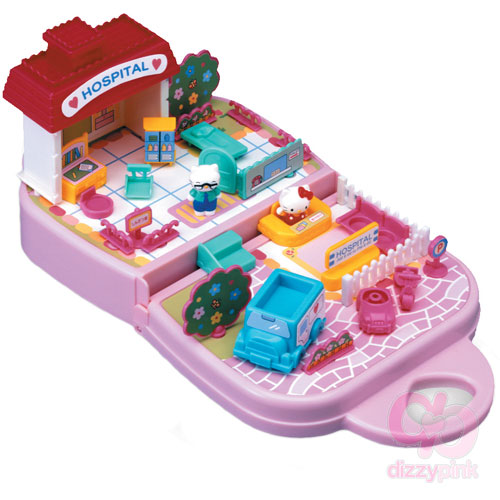 Hello Kitty Mini Toy Hospital Kit