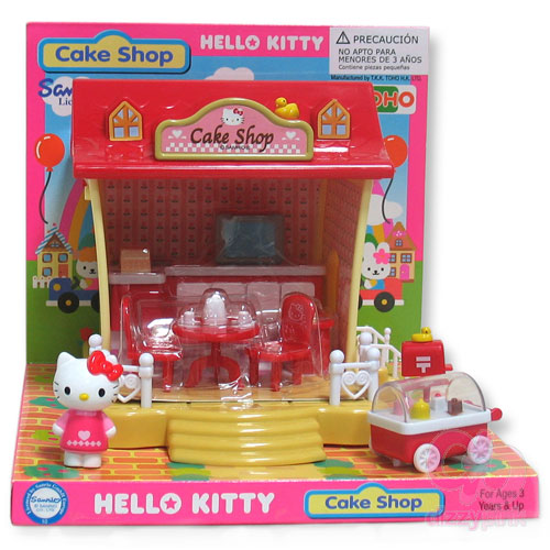 Hello Kitty Mini Cake Shop