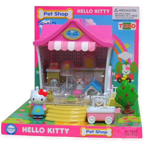 Hello Kitty Mini Pet Shop