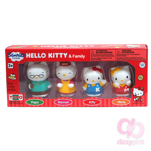 Hello Kitty & Family Figures