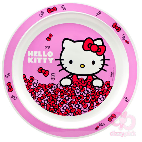 Hello Kitty 9'' Melamine Plate - Bows