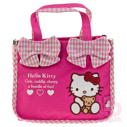 9e6ab444d2fc Hello Kitty   Teddy Drawstring Cross Body Bag