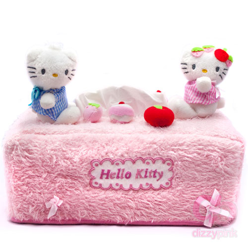Hello Kitty Tea Party Tissue Box Cover