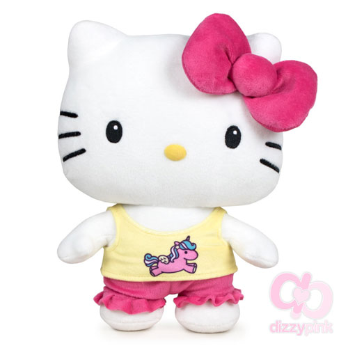 Hello Kitty Pyjama Party Plushie - Unicorn