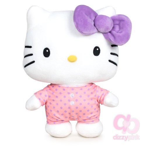 Hello Kitty Large Pyjama Party Plushie - Pink Onesie