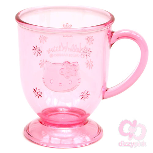 Hello Kitty Plastic Cup - Face Pink