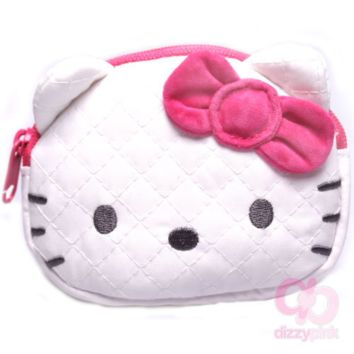 1be681ce9 Hello Kitty Coin Purse - Quilt - Pink Kitty