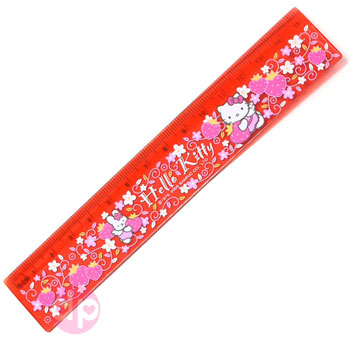 Hello Kitty 15cm Ruler - Angel Berry