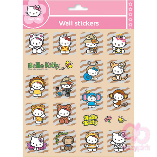 Hello Kitty Metallic Stickers - Safari