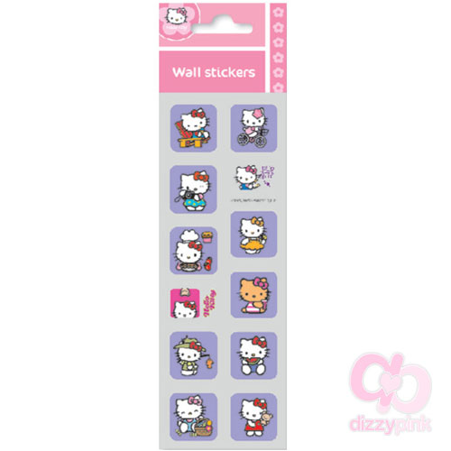 Hello Kitty Mini Metallic Stickers - Activity