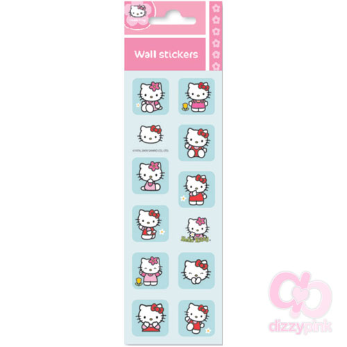 Hello Kitty Mini Metallic Stickers - Classic
