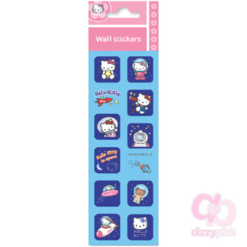 Hello Kitty Mini Metallic Stickers - Space