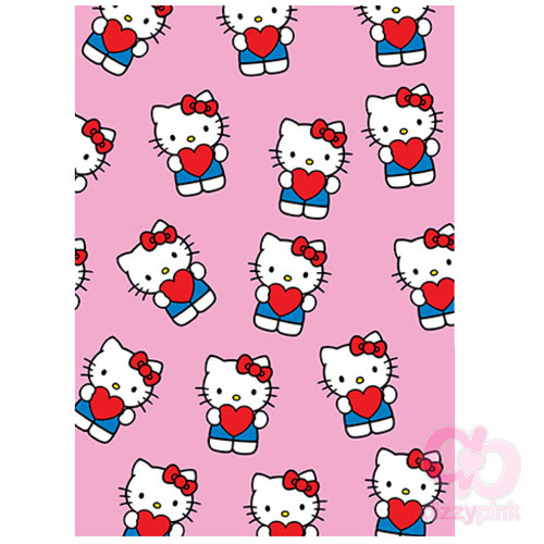 Hello Kitty Wrap - Heart on Pink