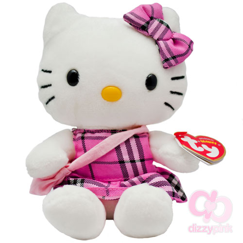 Hello Kitty TY Tartan Plushie